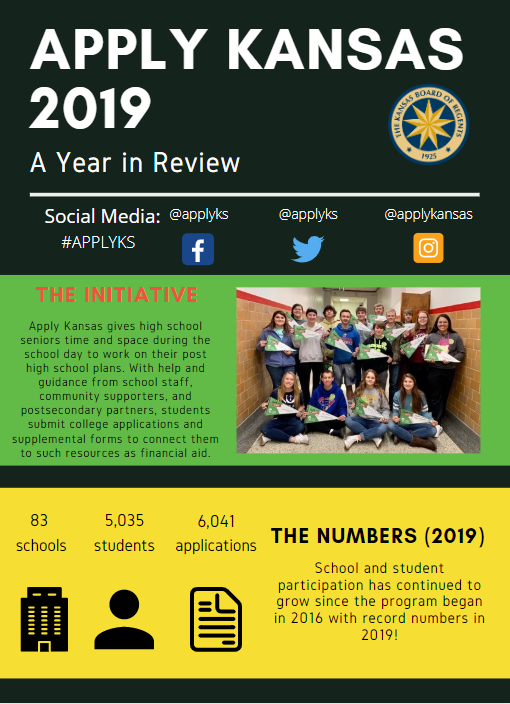 Apply Kansas 2019 report cover