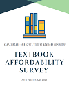 Textbook Affordability Survey cover page